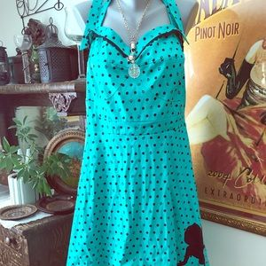 Disney Ariel pin up halter dress